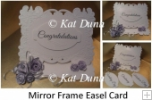 Mirror Frame Easel Card
