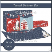 Nautical Stationery Box