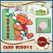 Gingerbread Fun Shaped Fold Card Kit