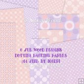 Dotties Series Backing Papers for Cardmaking