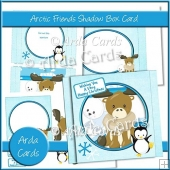 Arctic Friends Shadow Box Card