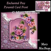 Enchanted Posy Pyramid Card Front