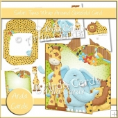 Safari Time Wrap Around Gatefold Card