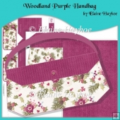 Woodland Purple Handbag