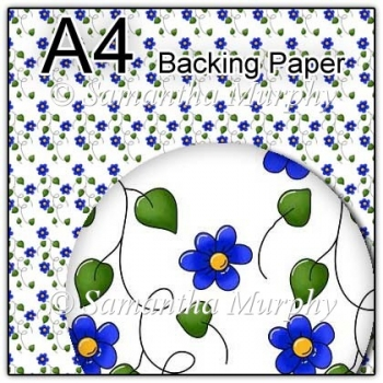 ref1_bp147 - White & Blue Flowers