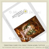 Pretty Fairy Fantasy Printable Greeting Card 1