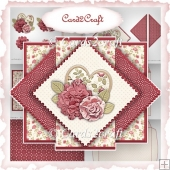 Triangle pop up card set 12