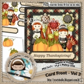 Card Front - Vol 3 (Thanksgiving)