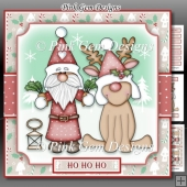 Santa and Rudolf Mini Kit