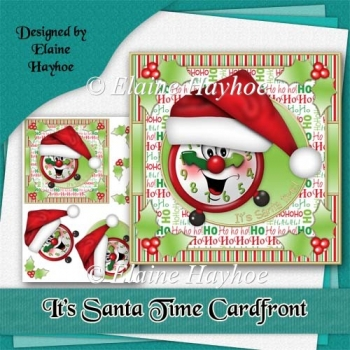 Its Santa Time Cardfront