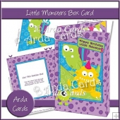 Little Monster Box Card