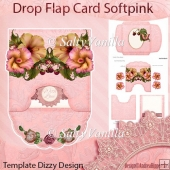 Softpink Drop Flap Card