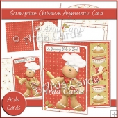 Scrumptious Christmas Asymmetric Card