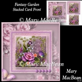 Fantasy Garden - Stacked Card Front