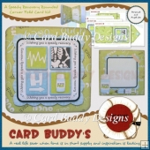 A Speedy Recovery Rounded Corner Fold Card Kit