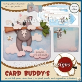 Kitty Calamity Over The Top Card Kit