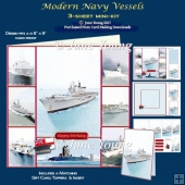 Modern Navy Vessels - 3-Sheet Mini-Kit