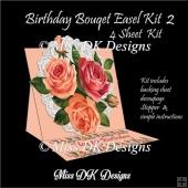 Birthday Bouquet Easel Card 2