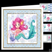 Funky Mermaid 4 Mini Kit