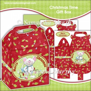 Christmas Time Gift Box