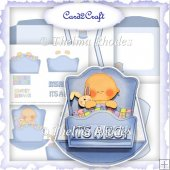 Baby Blue Rocker Card Set
