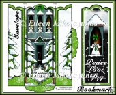 Angel Holiday Wishes Bookmark Set