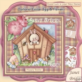 Bunny House New Home, Birthday or Easter Kit