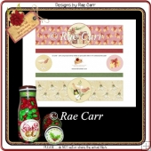 PS190 Christmas Mouse and Champagne Bottle Wraps