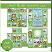 Down On The Farm Neverending Card