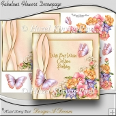 Fabulous Flowers Decoupage