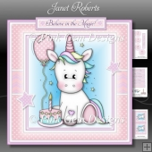 Birthday Unicorn Mini Kit - With Age Badges 1 to 4 Years