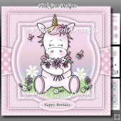 Spring Unicorn Pink Mini Kit With Ages 1 to 9yrs