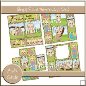 Sleepy Sloth Neverending Card