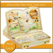 Buzzy Bees Open Book Easel Card With Drawer