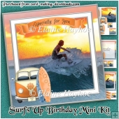 Surf's Up Birthday Mini Kit