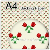 ref1_bp45 - Cream Flowers Red Tulips