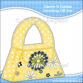 Denim and Daisies Handbag Gift Box