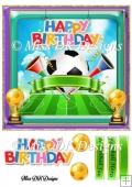 Football Lovers Birthday Card