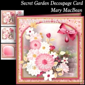 Secret Garden Decoupage Card