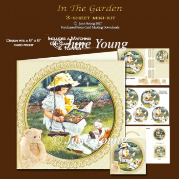 In The Garden - 3-Sheet Mini-Kit