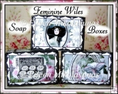 Feminine Wiles Soap Gift Boxes Set of 3