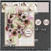 In Love With Flowers Card Kit 1433