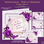 Wedding Anniversary - Wife to Husband