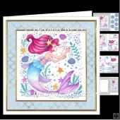 Funky Mermaid 1 Mini Kit