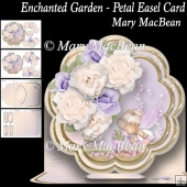 Enchanted Garden Petal Easel Card