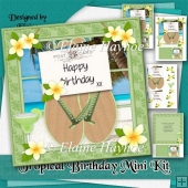 Tropical Birthday Mini Kit