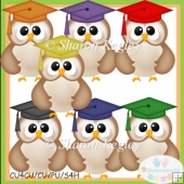 Graduation Owls Designer Resource Graphic