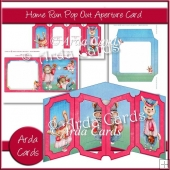 Home Run Pop Out Aperture Card