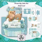 Dream Big Little One Baby Shelf Card
