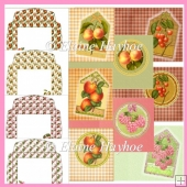 Fruit Notelets Set